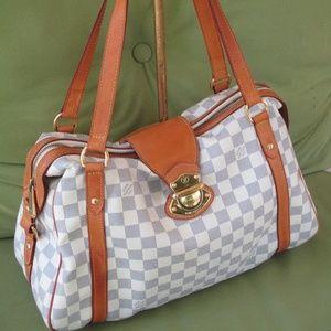 LOUIS VUITTON Stresa PM Damier Azur Shoulder Bag